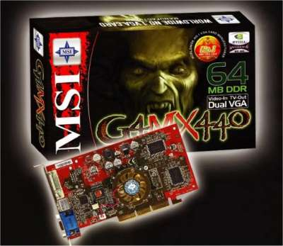 MSI G4MX 440