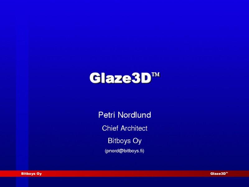 Glaze3D